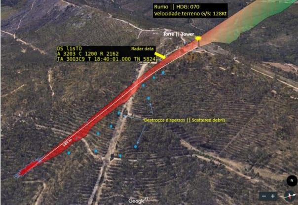 Queda do Helicóptero com piloto de Viseu foi causada por choque com Torre 8