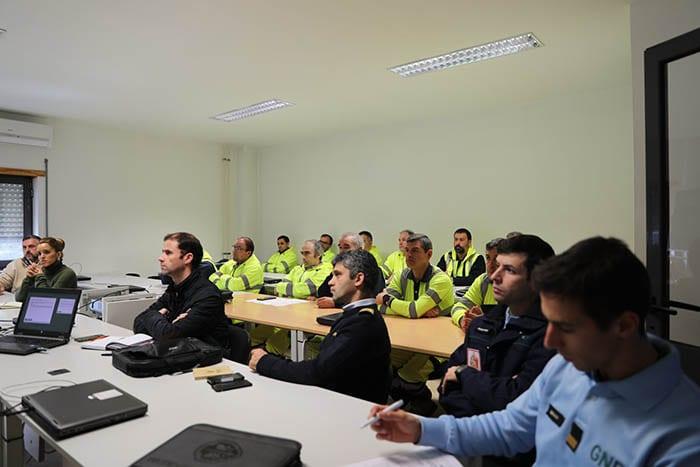 GNR realiza ação de sensibilização à preservação de vestígios em acidentes 3