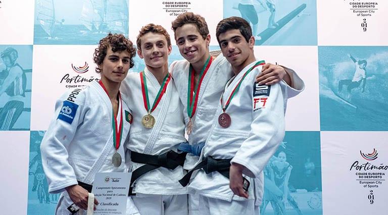 Atleta do Judo Clube de Viseu sagra-se campeão Nacional 4
