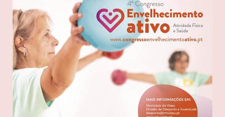 Photo of Envelhecimento Ativo: 4º Congresso em aula magna no Pavilhão Multiusos do IPV