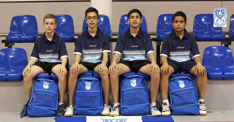 Photo of C.S.C. ORGENS no Campeonato Nacional de Equipas de Cadetes Masculinos