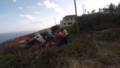 Photo of URGENTE | 29 mortos na madeira após autocarro cair em ribanceira