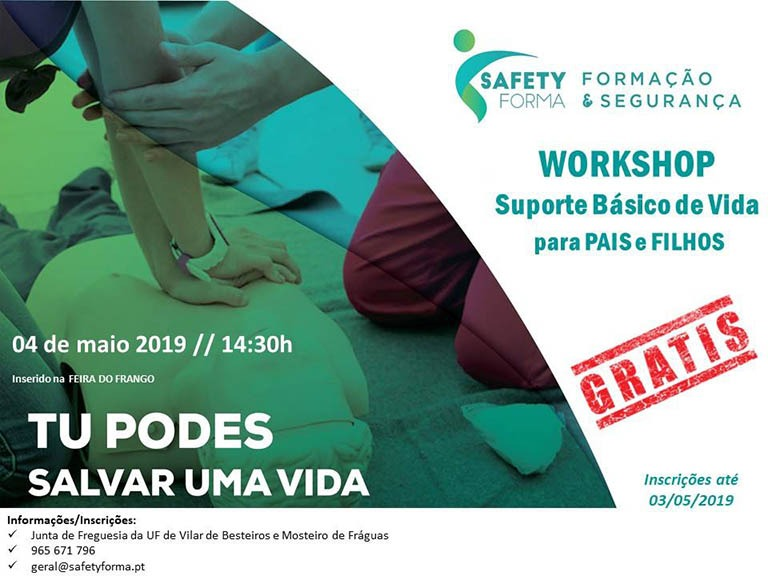 Workshop Suporte Básico de Vida para Pais e Filhos