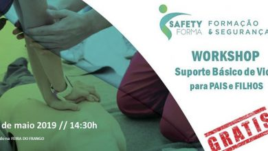 Photo of Workshop Suporte Básico de Vida para Pais e Filhos Gratuito