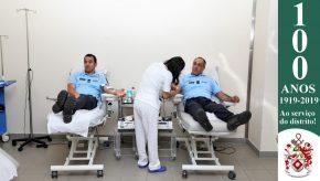Dia Mundial do Doador de Sangue: Militares da GNR doam sangue para assinalar o Dia 1