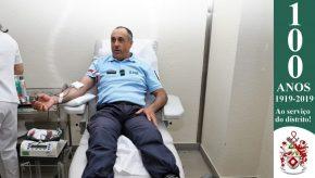 Dia Mundial do Doador de Sangue: Militares da GNR doam sangue para assinalar o Dia 10