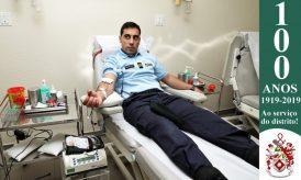 Dia Mundial do Doador de Sangue: Militares da GNR doam sangue para assinalar o Dia 12