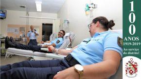 Dia Mundial do Doador de Sangue: Militares da GNR doam sangue para assinalar o Dia 14