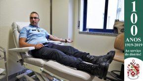 Dia Mundial do Doador de Sangue: Militares da GNR doam sangue para assinalar o Dia 17