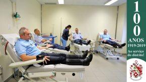 Dia Mundial do Doador de Sangue: Militares da GNR doam sangue para assinalar o Dia 4