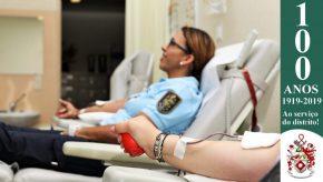 Dia Mundial do Doador de Sangue: Militares da GNR doam sangue para assinalar o Dia 5