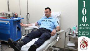 Dia Mundial do Doador de Sangue: Militares da GNR doam sangue para assinalar o Dia 6
