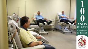Dia Mundial do Doador de Sangue: Militares da GNR doam sangue para assinalar o Dia 7