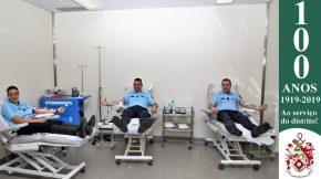 Dia Mundial do Doador de Sangue: Militares da GNR doam sangue para assinalar o Dia 8