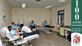 Dia Mundial do Doador de Sangue: Militares da GNR doam sangue para assinalar o Dia 9