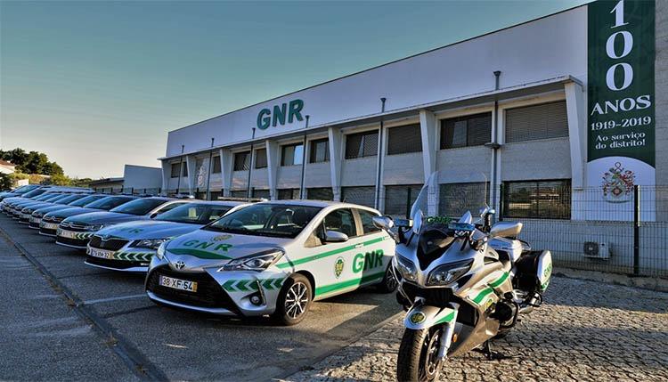 GNR de Viseu recebe 13 viaturas novas