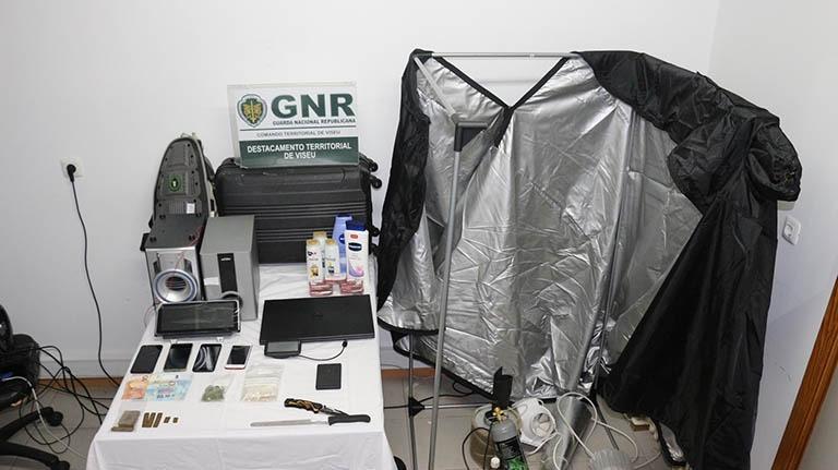 2 homens detidos em Castro Daire por furtos e por tráfico de estupefacientes 1