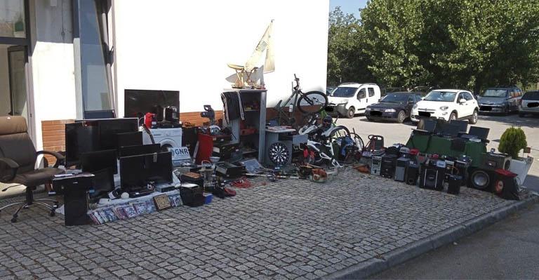 Desmantelada rede de furtos pela GNR
